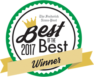 The Frederick News-Post 2017 Best of the Best Winner ribbon